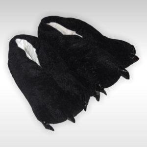 Тапки-лапки Черные