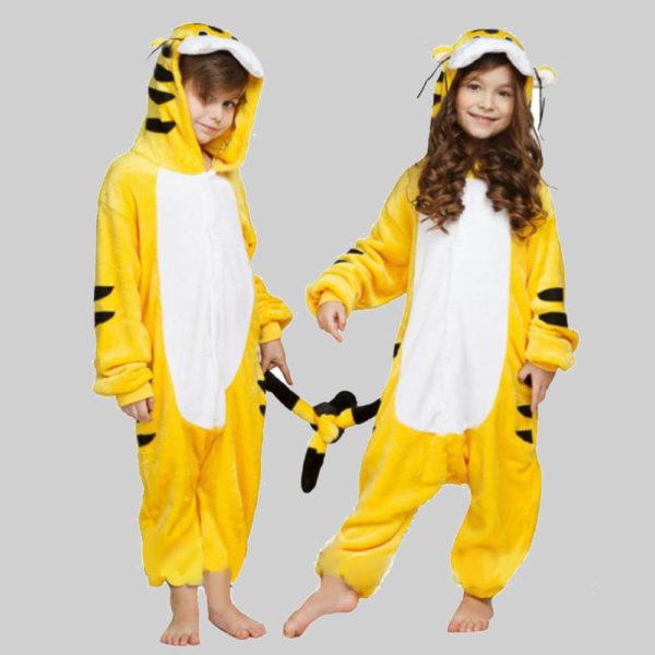 Кигуруми Желтый тигренок для детей