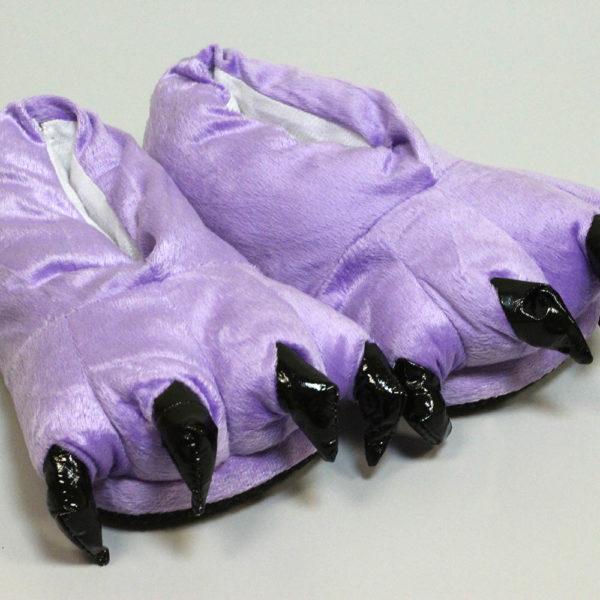 Кигуруми Тапки-лапки фиолетовые