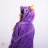 Кигуруми детский фиолетовый единорог